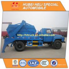 DONGFENG 4x2 6CBM recolección de basura camión reciclado tipo con contenedor de basura 140hp