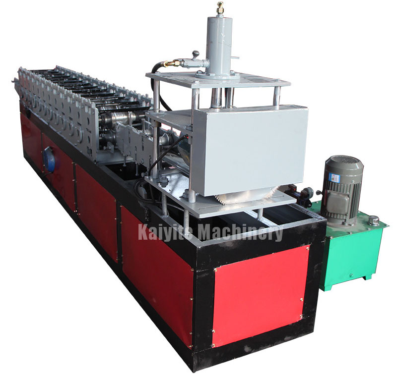 Algeria automatic roll up garage door making machine