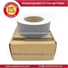 Fornecedor profissional de couro Artificial reflexivo do PVC