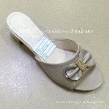 Nouveau Style Bonne Qualité Mode Dames Chaussures PU Sandales (JH160523-8)