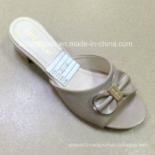 New Style Good Quality Fashion Ladies Shoes PU Sandals (JH160523-8)