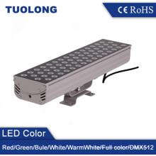 Luz al aire libre cuadrada de la luz de inundación de 60W LED RGB LED