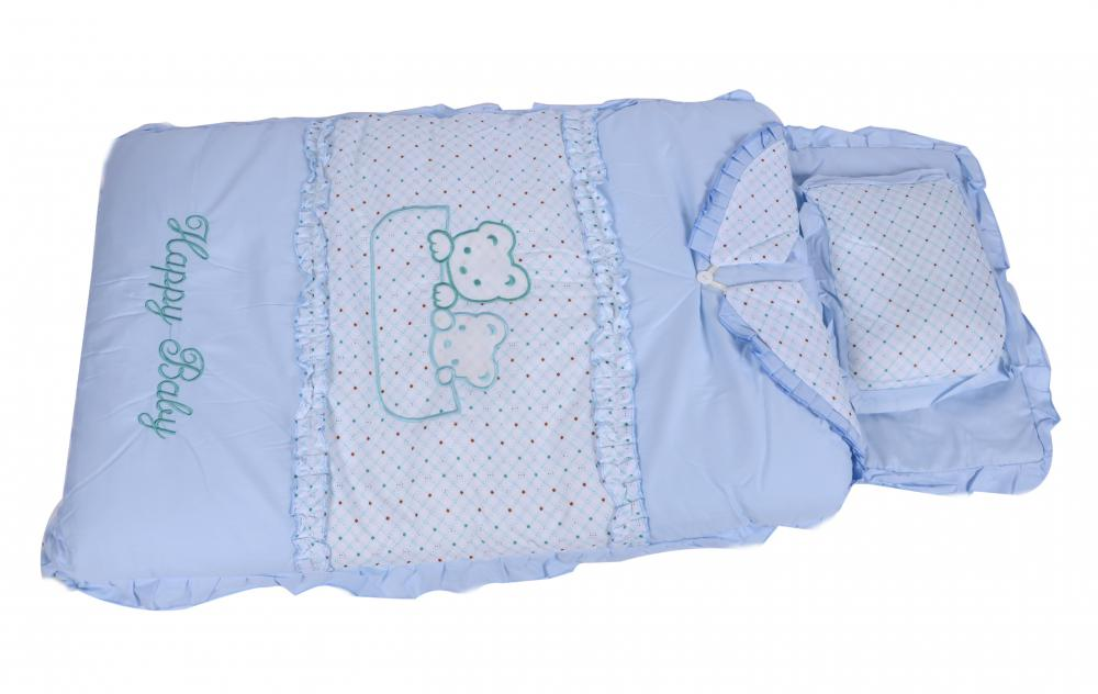 Multi Designs 2 In One Baby Sleeping Bag with Pillow