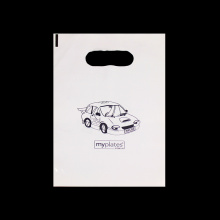 Promotion Punch Handle Shopping Die Cut Bag
