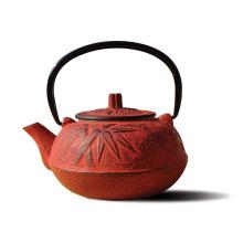Venta caliente personalizado restaurante esmalte recubierto de hierro fundido olla de té