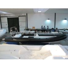 coque rigide Hypalon bateau RIB730 bateau avec tube hypalon
