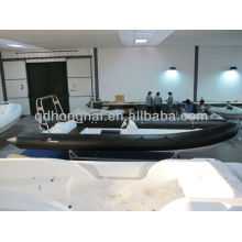 hypalon boat RIB730 boat rigid hull with hypalon tube