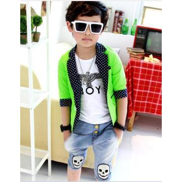 Moda / Bonito Best Selling Rapaz Terno Pequeno