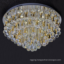 custom led chandelier ceiling lamp stainless steel