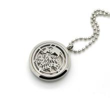 Нержавеющая сталь Бабочка полые Locket Духи диффузор ожерелье