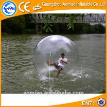 2016 Boules d'eau de hamster humain, ballon d'eau jumbo, boules d'eau gonflables à vendre