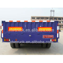 high quality 30 tons 3axle cargo semi trailer, cargo transport trailer