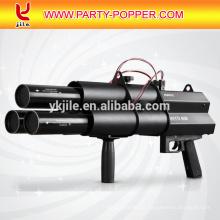 Lanzador de Confeti Lanzador Eléctrico de 3 Cabezas Pistola de Confeti