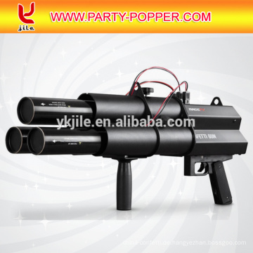 3 Köpfe elektrische Konfetti Launcher Confetti Gun