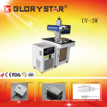 UV Laser Marking System for Cosmetic Bottles/Chargers/Cables/Data Line