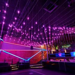 Disco DMX LED Meteor Shower Rain Lights Tubes