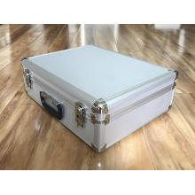 Caixa de armazenamento de alumínio com inserção de espuma