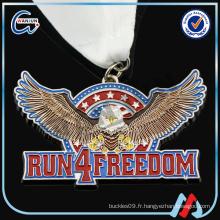 AMERICA RUN 4 FREEDOM médailles drôles