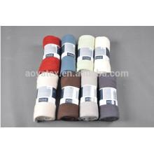 Hotle usa cobertores de poliéster sólidos