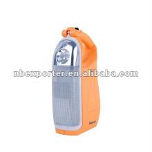 Солнечный и аккумуляторный аварийный светильник