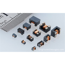 Magnetic core inductor coil SMD common mode
