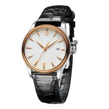 Nuevo reloj de cuarzo de la manera del acero inoxidable del movimiento de Styel Japón Bg247