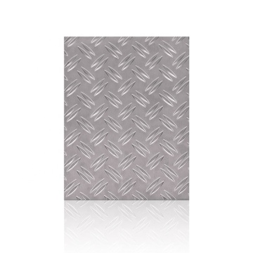 1100 1200 PVC Coated Checker Aluminium Plate