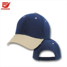 100% Cotton 6 Panels Customized Promotional Baseball Hats