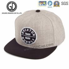 2016 große Mode Baumwolle Hip Hot Cap mit benutzerdefinierten Stickerei
