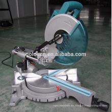 1900w poder de corte de aluminio circular de la máquina Sierra eléctrica portátil 255mm deslizante compuesta Mitre Saw