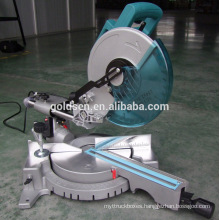 1900w Power Aluminum Cutting Circular Saw Machine Portable Electric 255mm Sliding Compound Mitre Saw