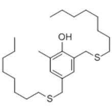 2-Metil-4,6-bis (octilsulfanilmetil) fenol CAS 110553-27-0