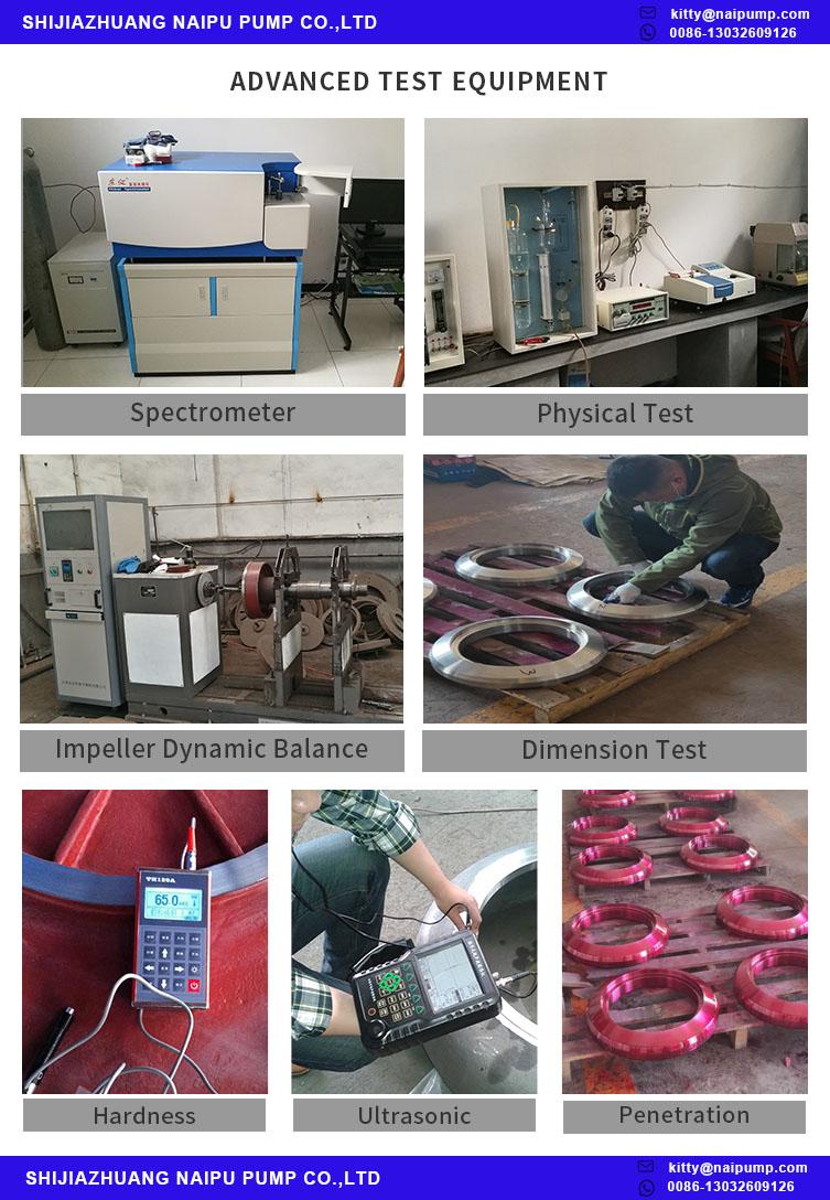 slurry pump Test Equipment