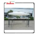 Shinygarden Outdoor-Garten-Stahl-Pavillon Eisen Rome Pavillon Zelt