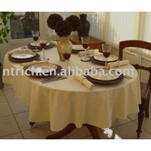 Tissu polyester linge de table, nappe hôtel, couverture de table