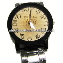 Relógio de quartzo de luxo com banda de aço inoxidável para homem JW-29