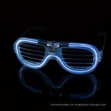 Blinken leuchten Gläser