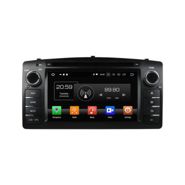 Android 8.0 Car Multimedia Player สำหรับ Corolla 2004