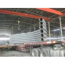 Curvatura em tubo 5D, 3D, Curvas de raio 4D, 5D, 6D, 8d, 10d, A106 Gr. Tubulação da curvatura de B