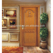 Puerta delantera para las ventas, diseño moderno de la puerta delantera, puerta delantera de madera