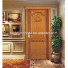 Porte d'entrée pour vente, design de porte d'entrée moderne, porte en bois avant