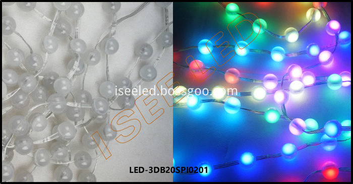 2cm 3d Led Ball Rgb Spi1903 2 Led Details