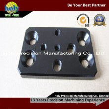 CNC-Bearbeitungs-Aluminiumplatte mit schwarzer Anodisierung