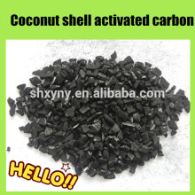 Высокая 8Х16 йода скорлупы кокосового ореха активированного угля в гранулах для золотых