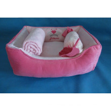 """23"""" Dog Beds with Blanket and Pillow"""