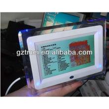 Mini uso doméstico 2 em 1 LCD 7 polegadas tela da tela de toque e analisador de cabelo máquina de beleza de teste
