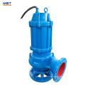Bomba de agua de alcantarillado sumergible eléctrica de 100m3 / h