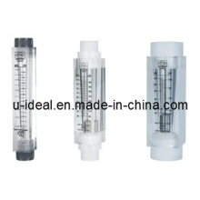 Débitmètre en acrylique Lzm Inline-Liquid Flowmeter