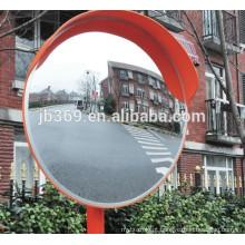 Espelho convexo da segurança de tráfego alaranjada exterior anti-UV super de 60cm 80cm
