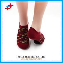 2015 Nouveau camouflage d'arrivée patterened personnalisé logo chaussettes chaussettes de cheville